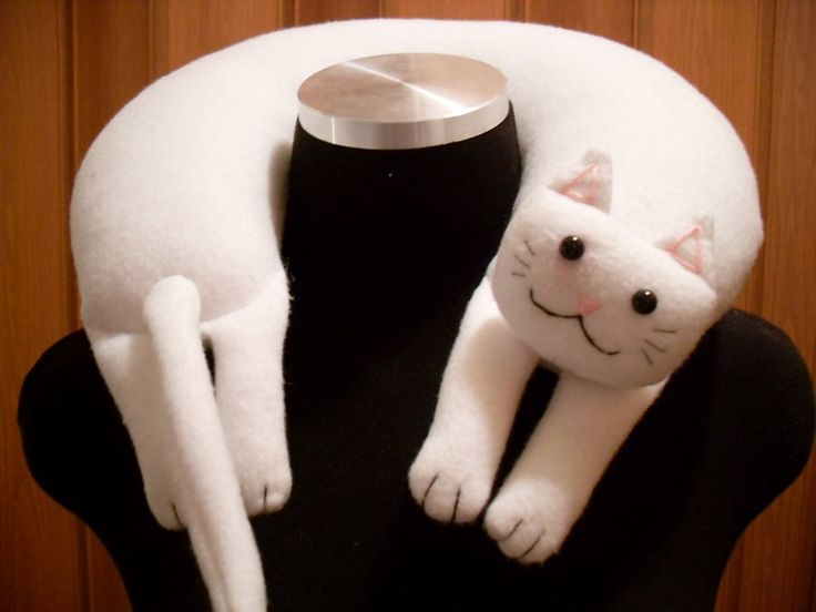 Longcat Neck Pillow by Justenjoyinglife (photo only)