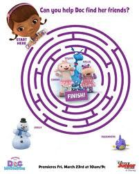doc mcstuffins party - Game