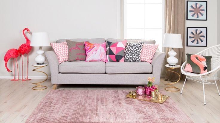 Pink Und Rose Wohnzimmer Deko – ElvenBride.com