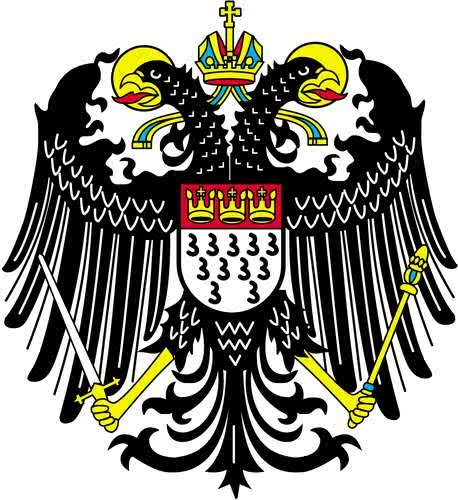 Stadtwappen Köln (coat of arms of Cologne, Germany)