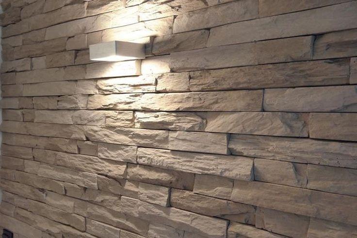 parete in pietra ricostruita