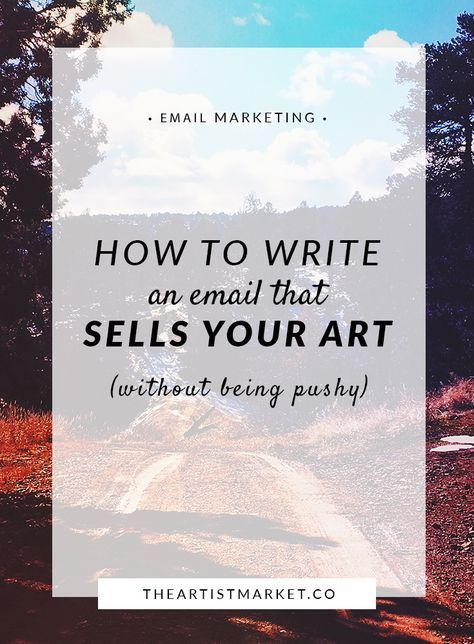 Do you ever ask people to buy your art? If the idea scares you, try this easy email formula to present your offer in an appealing way. Sell | Sales | Email | Art | Artist