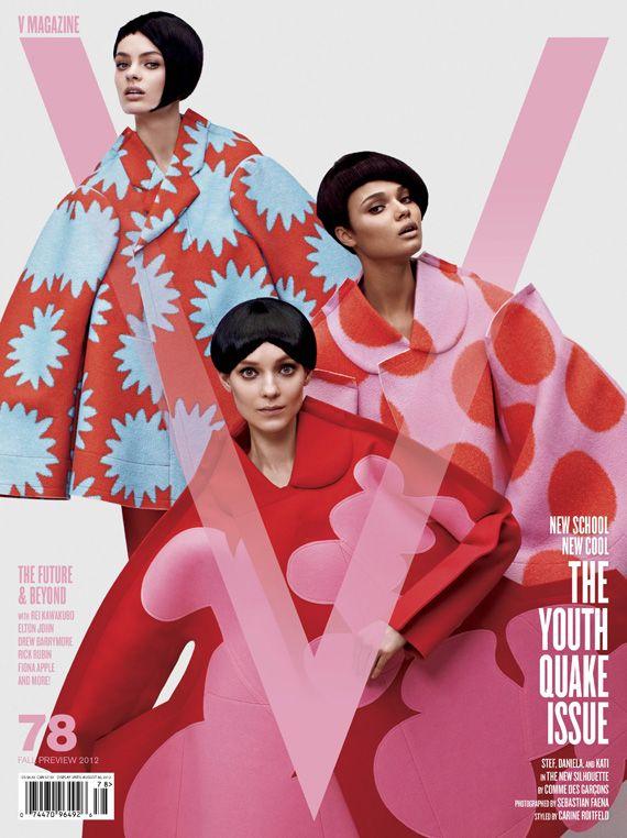 Daniela Braga for V Magazine