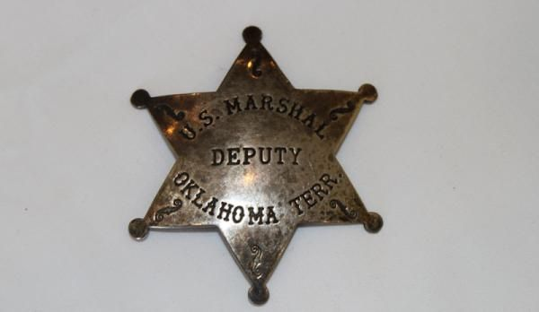 U.S. Marshal star.