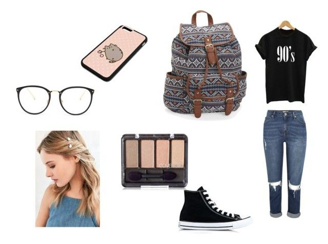 Back to School 3 by jill-nicole-1 on Polyvore featuring Converse, Aéropostale, Urban Outfitters, Linda Farrow and Pusheen