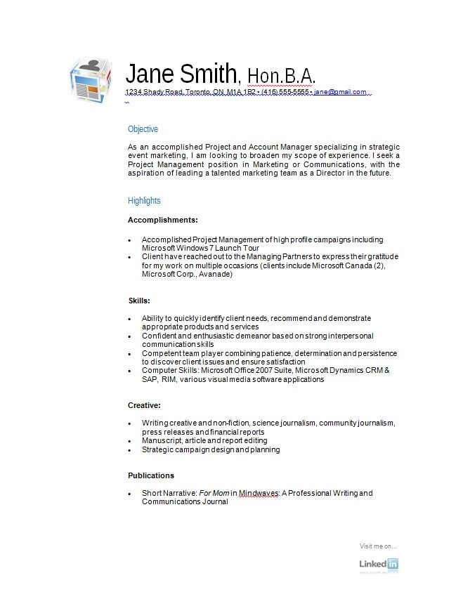 The 25+ best Free resume samples ideas on Pinterest Free resume - resume templates and examples