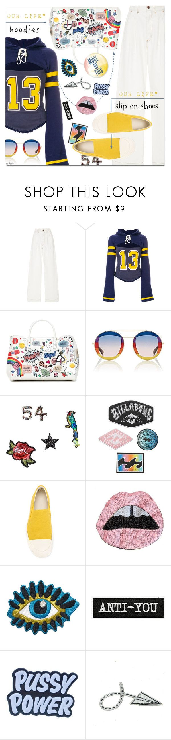 """""""In My Hood: Cozy Hoodies / Polyvore Contest"""" by deneve ❤ liked on Polyvore featuring Puma, Anya Hindmarch, Gucci, MANGO, Billabong, DRKSHDW, Demian Renucci and Hoodies"""