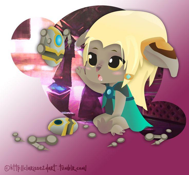 [GuildWars 2 - FanArt] Tiny Asura by Clarisse2DArt.deviantart.com on @DeviantArt