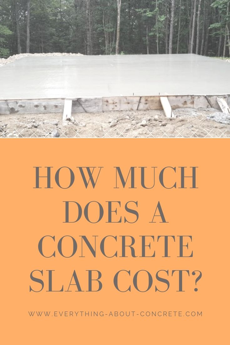 How Much Does A Concrete Slab Cost