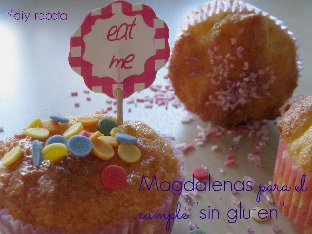 #magdalenas #singluten #cumple #toppings #freegluten #receta #pasoapaso en el #blog