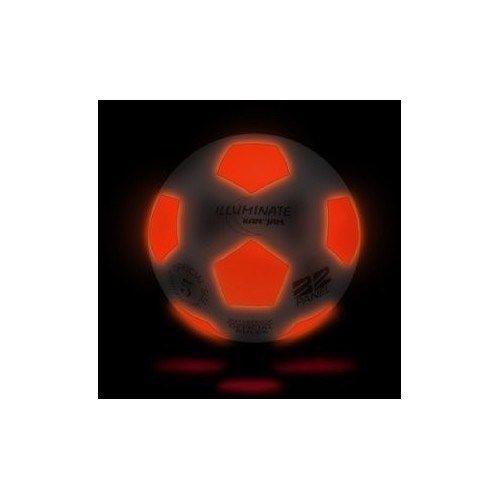 Soccer Kids Play Fun Equipment Light-Up Soccer Ball LED Light Glow In the Dark