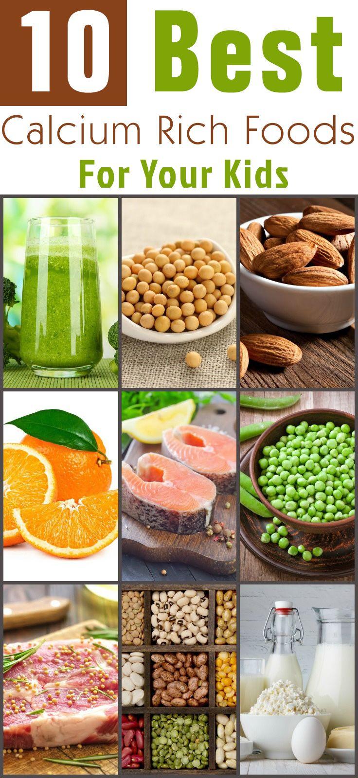 10 Best Food Sources Of Calcium For Kids Calcium rich