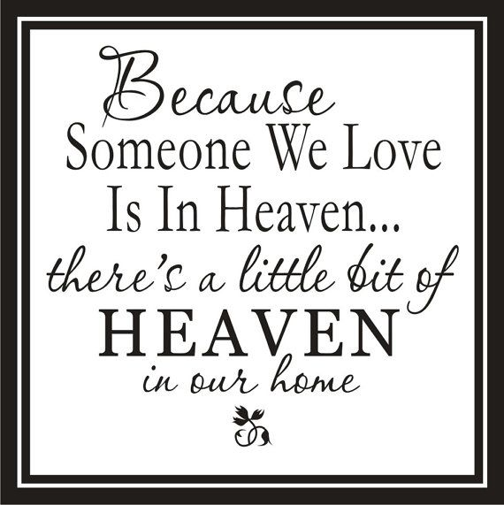 Love this - in memory of my MOM ♥