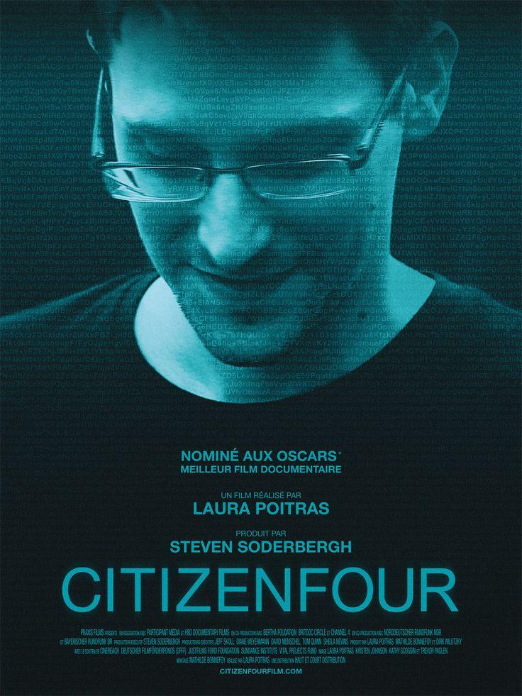 CITIZENFOUR de Laura Poitras a remporté l'Oscar du meilleur film documentaire. Synopsis : En 2013, Edward Snowden révèle des documents secret-défense en provenance de la NSA, déclenchant l'un des plus...