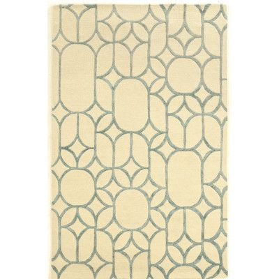 House of Hampton Cheshunt Hand-Tufted Beige Area Rug Rug Size: 5' x 8'