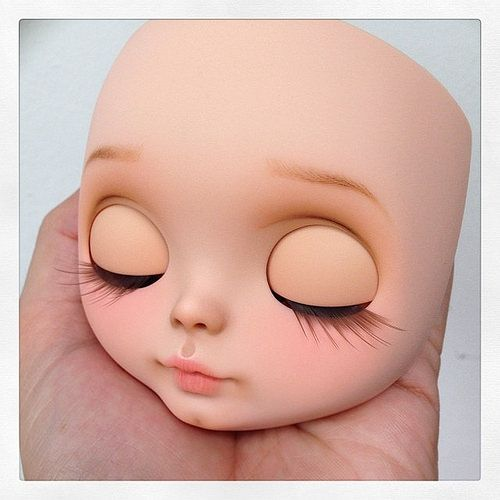 Make up ready! #erregiro #blythe #doll #custom #erregirodolls