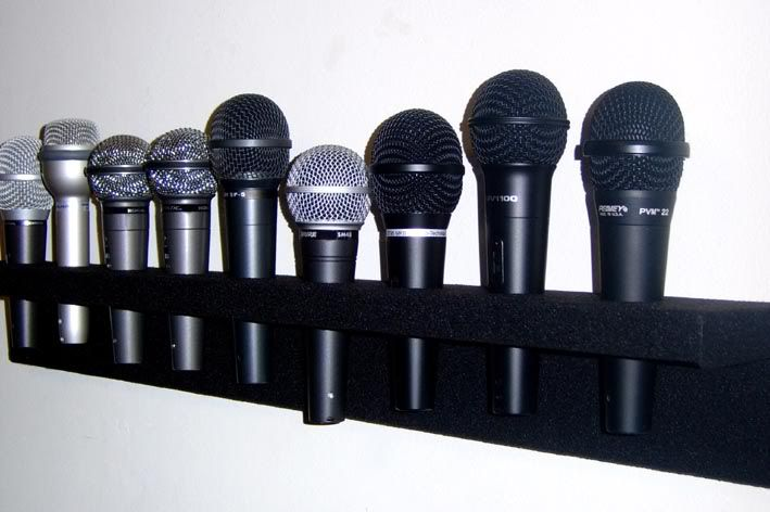 Multiple Microphone Holder In 2020 Band Rooms Recording