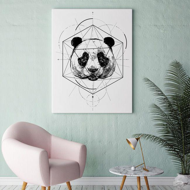 Our Panda project - by HOG STUDIO #panda #bear #animals #poster