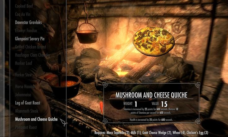 Babettes Feast - Improved Cooking at Skyrim Nexus - mods and community