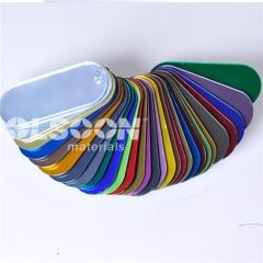 Two-sided mirror acrylic sheets