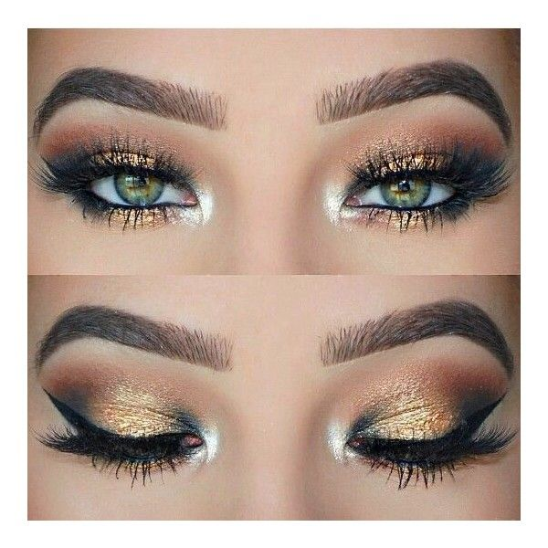 Aztec Gold Eyeshadow Pigment ❤ liked on Polyvore featuring beauty products, makeup, eye makeup and eyeshadow