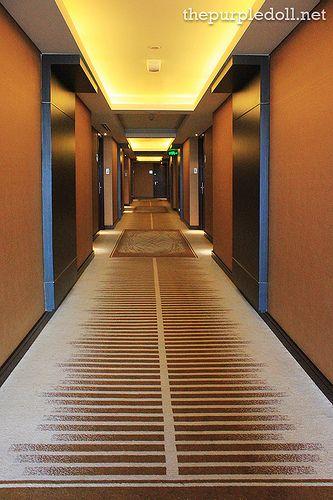 Acacia Hotel hallway