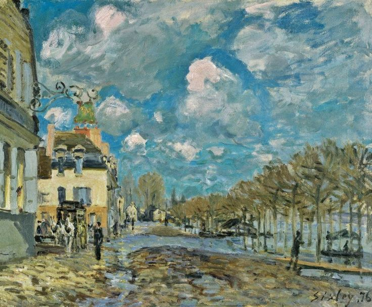77 best images about alfred sisley on pinterest old - Point p port marly ...