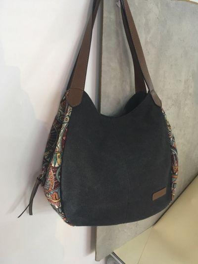 Hot-sale designer Brenice Bohemia Large Capacity Canvas Floral Handbag  Shoulder Bag For Women Online - NewChic Mobile b3db565f3eaad