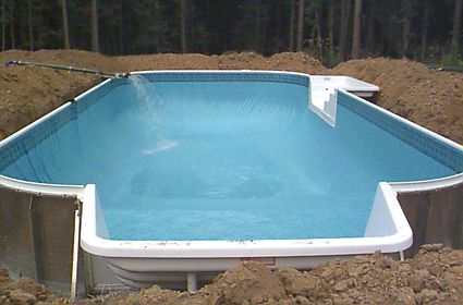 25 Best Images About Diy Inground Pool On Pinterest