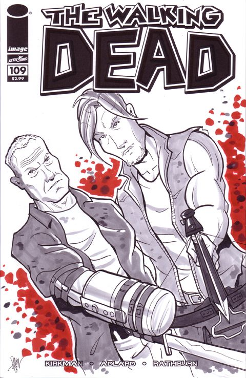 Merle & Daryl Dixon - The Walking Dead - Cal Slayton