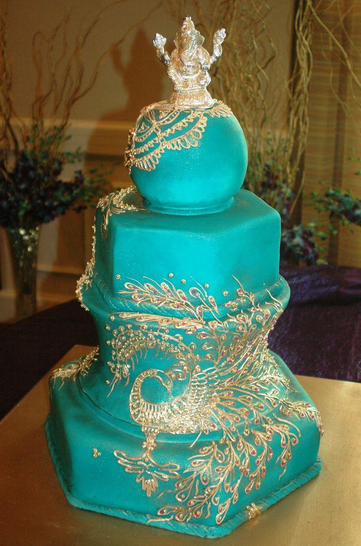 297 best Indian wedding cakes images on Pinterest | Petit fours ...
