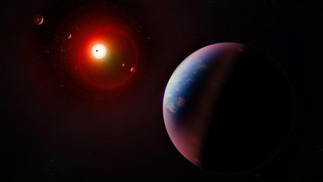 Hundreds of new planets have been discovered (Picture