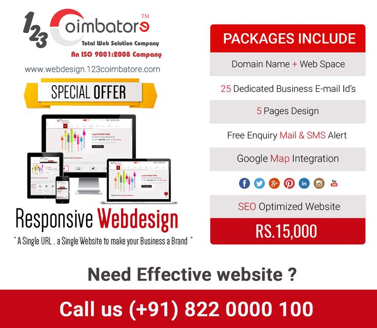 We are happy to say this #webdesign package helped to grow our Client business branding online and making more demand in the local market. Request free quote for your company!