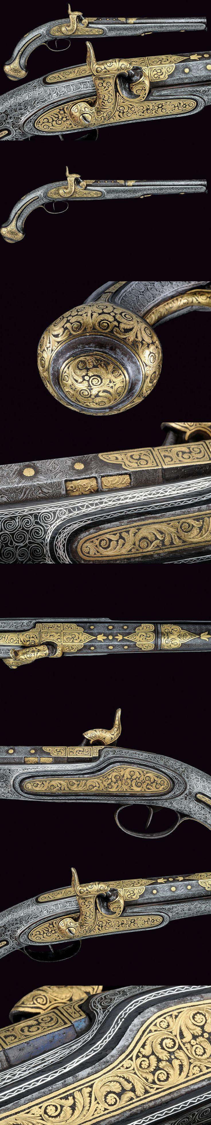 Percussion Pistol (Mid 19th Century Ottoman Empire)