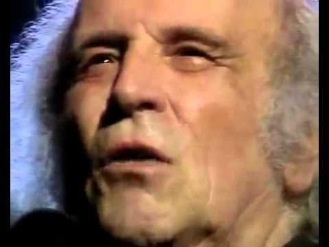 """Léo Ferré Il n'y a plus rien !! """"le pouvoir d'où qu'il vienne, c'est vraiment de la merde"""""""