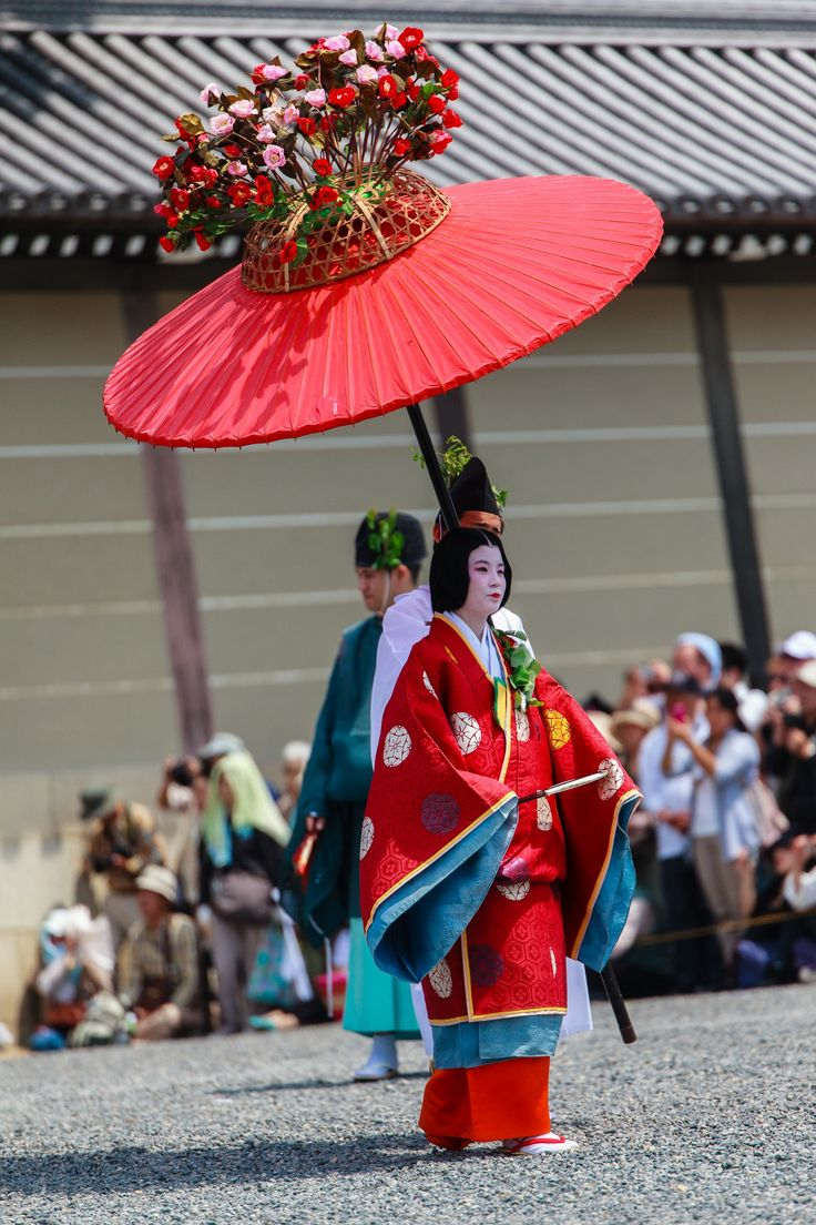 Aoi Matsuri Parade - Kyoto. Japan