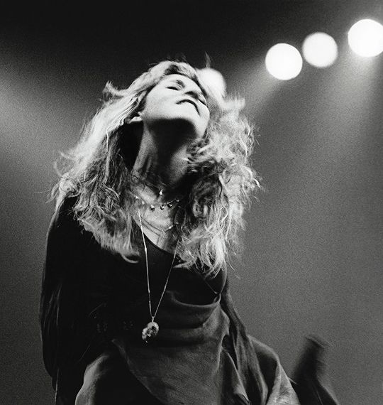 """""""This (image) is Rhiannon, without a doubt. ..well, you see, it turns...  She is some sort of reality. If I didn't know she was a mythical character, I would think she lived down the street.""""  ~  Stevie Nicks, 1979"""