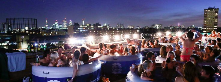 Hot Tub Cinema - an unforgettable experience