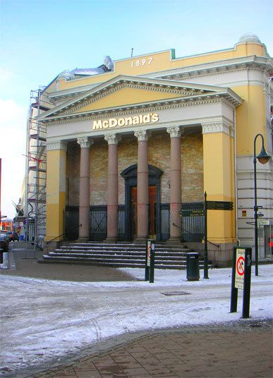 Extraordinary McDonald's restaurants around the world McDonald's in Kristiansand, Norway