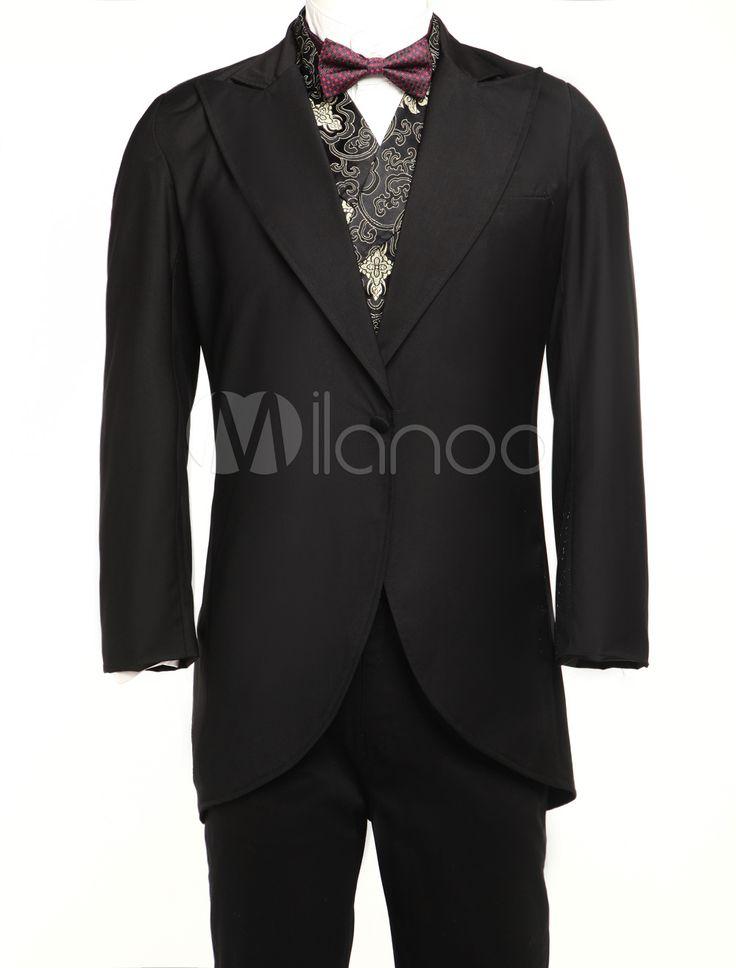 Steampunk - Jazz Cloth Mens Full Length Steampunk Corner Cutting Coat