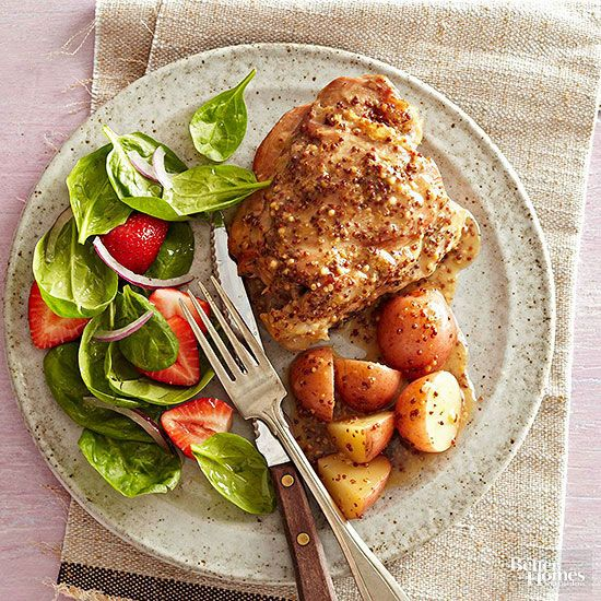 You'll have plenty of time to make a side salad while this meat-and-potatoes dinner slow-cooks.