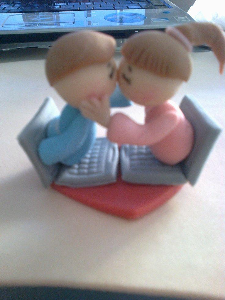 Amor por internet, porcelana fría