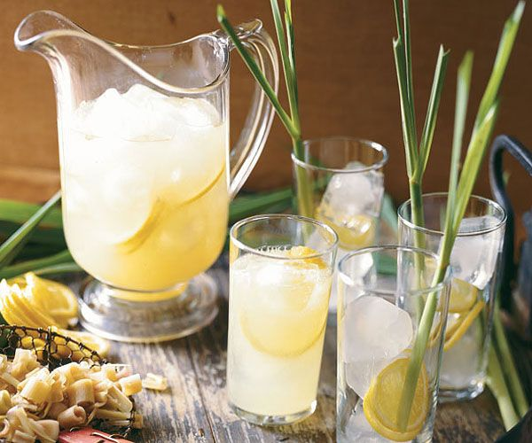 Surprisingly, the salt in this recipe makes the drink's sweetness more pronounced.