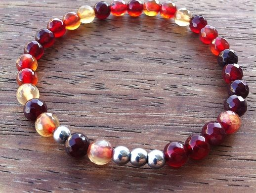 Galapagos Bracelet by nunki // Gemstone & Metal //#Menswear #Accessories