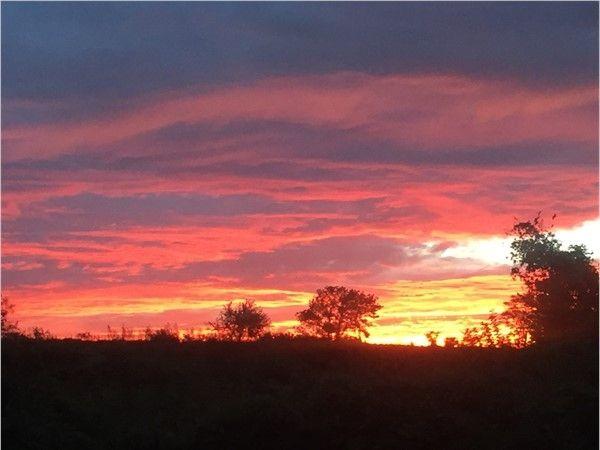 Stunning fall sunsets
