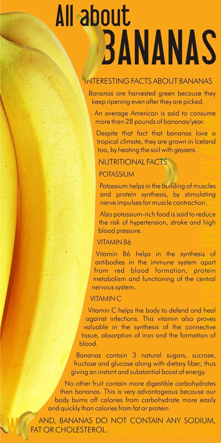 The Health Benefits of Bananas!