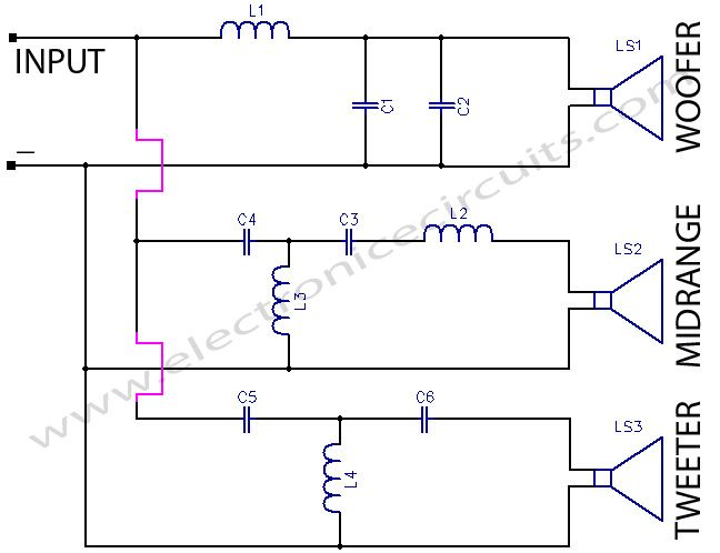 Crossover Wiring Diagram Car Audio Http Bookingritzcarlton Info Crossover Wiring Diagram Car Aud Electronic Circuit Projects Tweeter Speaker Circuit Diagram
