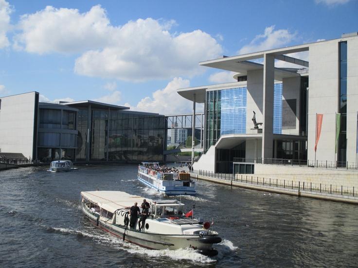 #Spree #Government district #Berlin