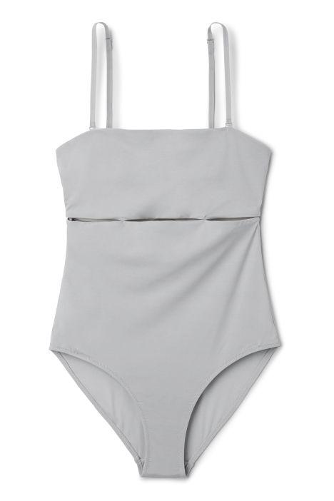 Weekday Secret Swimsuit in Grey Light