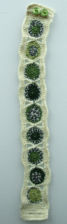 Crochet necklace by ulani